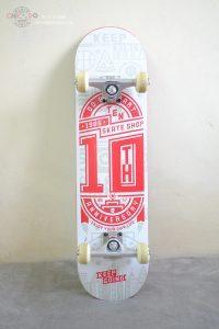 Ván trượt skateboard của Do by heart là một trong những dòng skateboard bền, chịu lực lên đến 200kg