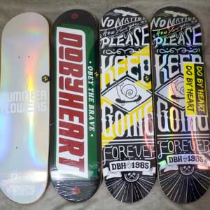 Deck ván trượt chính hãng DBH chất lượng siêu tốt, giá hợp lý Chic-DG Skateshop