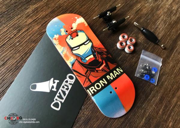 Ván trượt tay gỗ DTZero Iron Man chính hãng