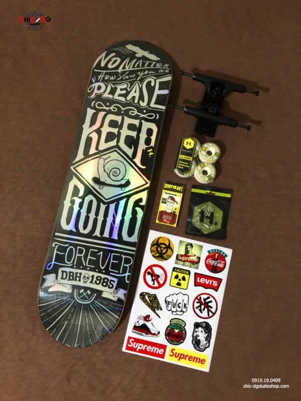 Ván trượt skateboard chính hãng DBH