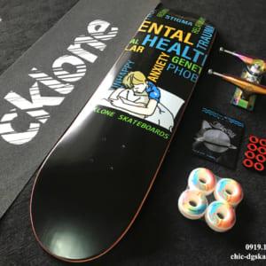 Skateboard Cklone Metal Head Professional Skateboard