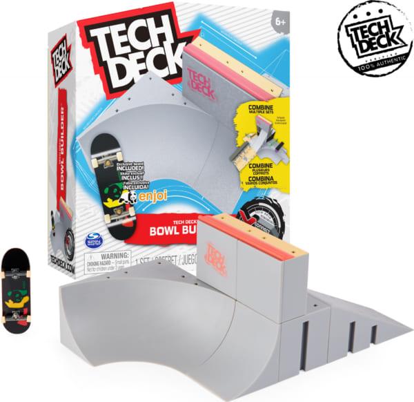 Bộ ramp lòng chảo dành cho ván trượt tay, BMX ngón tay, Scooter ngón tay chính hãng của Tech Deck