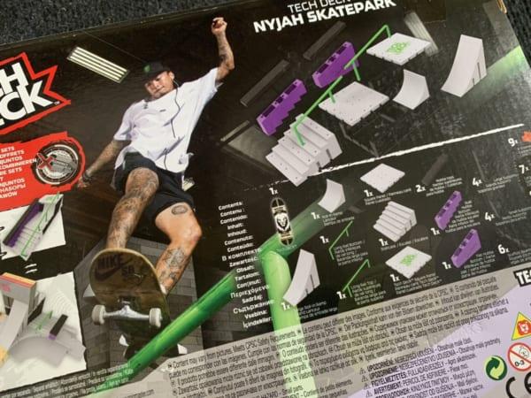 Nyjah Skate Park Tech Deck - Chic-DG